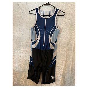A Sugoi Triathlon Suit